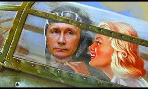 Самый зрелищный, сатирический боевик года! Как летчик и танкист Путин Киевскую хунту разгромил.