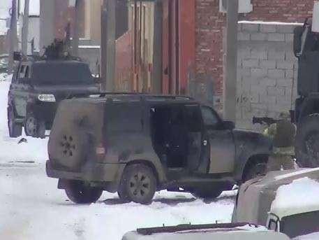 Ликвидации боевиков в Хасавюрте. Видео от Национального антитеррористического комитета
