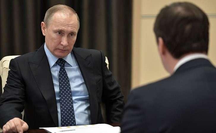 Встреча спредседателем правления Россельхозбанка Дмитрием Патрушевым.