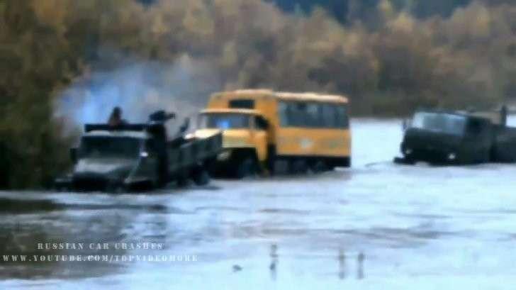 Урал не машина, Урал это ЗВЕРЬ. Русские машины проедут везде