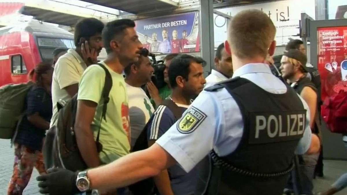 В Германии ситуация с беженцами вышла из-под контроля