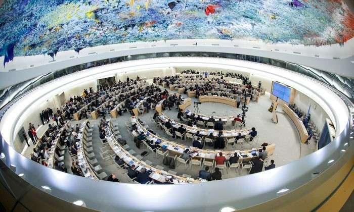 Без права на защиту народа. ООН грозит ополченцам трибуналом. О тех, кто развязал террор против мирных жителей Юго-Востока, - ни слова