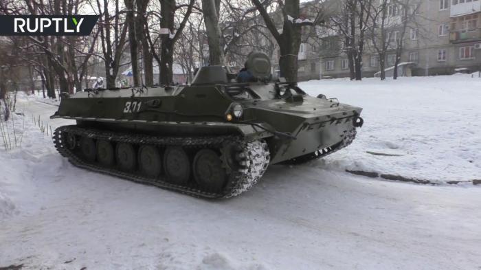 Ролик — провокация: В Донецке эвакуируют мирных жителей