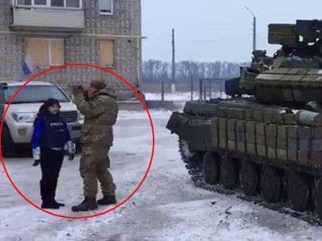 Мария Мария Захарова об ОБСЕ: есть такая работа – танки не замечать