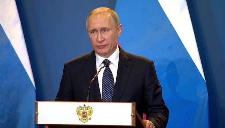Владимир Путин объяснил, почему Украина пошла на обострение в Донбассе