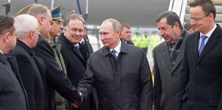 Рабочий визит президента РФ В.Путина в Венгрию