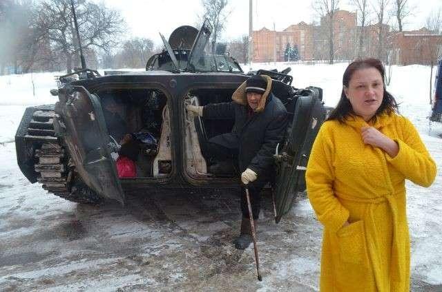 Эвакуация донецких жителей: «Я никуда не уеду! Это мой город, мой Донецк!»