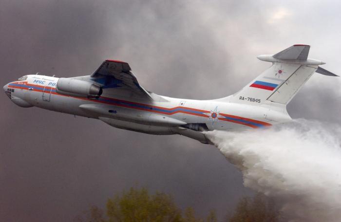Россия спасает Чили от пожаров: местные жители ликуют при виде Ил-76