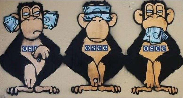 Очевидцы сняли на видео позорное бегство миссии ОБСЕ на кануне обстрела Донецка