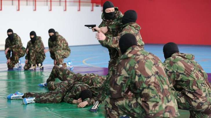 Как Росгвардия усвоила опыт государственного переворота на Украине в 2014 году