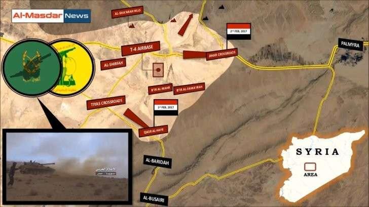 Сирия, Пальмира: Наши наступают. Ура!