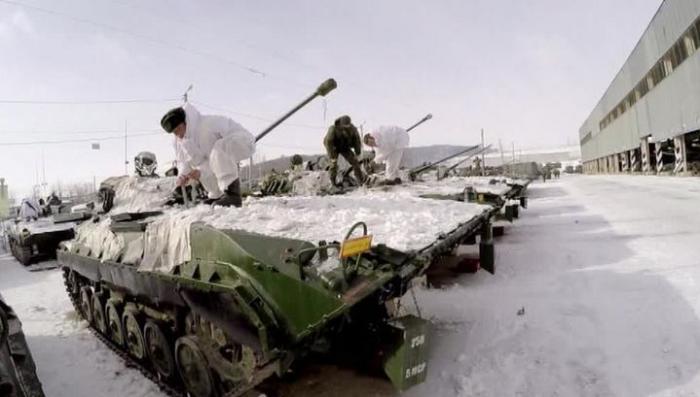 Российская военная база в Южной Осетии поднята по тревоге, – так проходит внезапная проверка