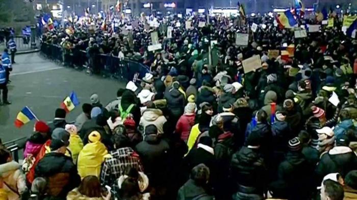 В Румынии протестующие добились отмены скандального постановления об амнистии