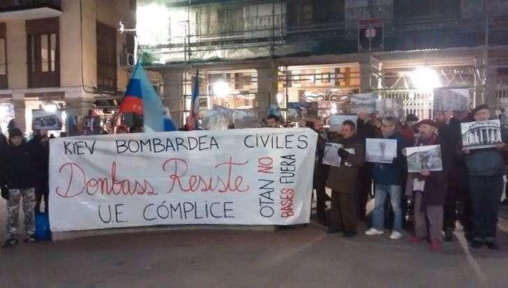 Протесты в Испании: потребовали разорвать дипотношения с Украиной