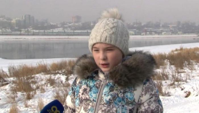 В Иркутске 10-летняя отважная девочка спасла провалившуюся под лед подругу