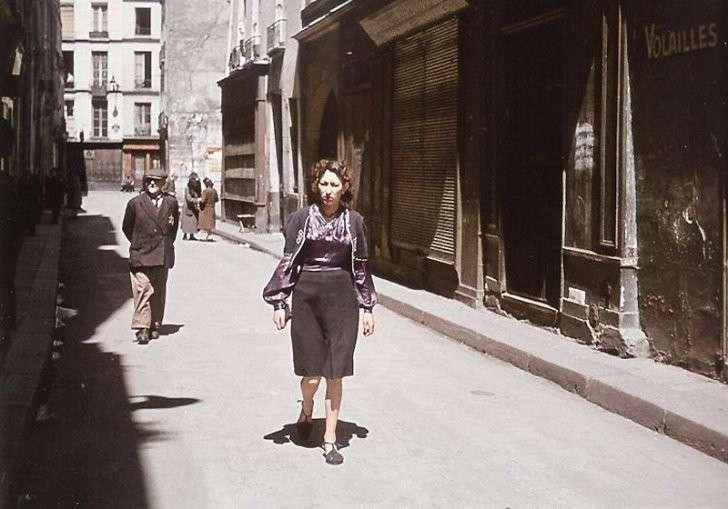 «Париж в оккупации 1941-44г». Запрещённые в Париже фотографии поразили многих!
