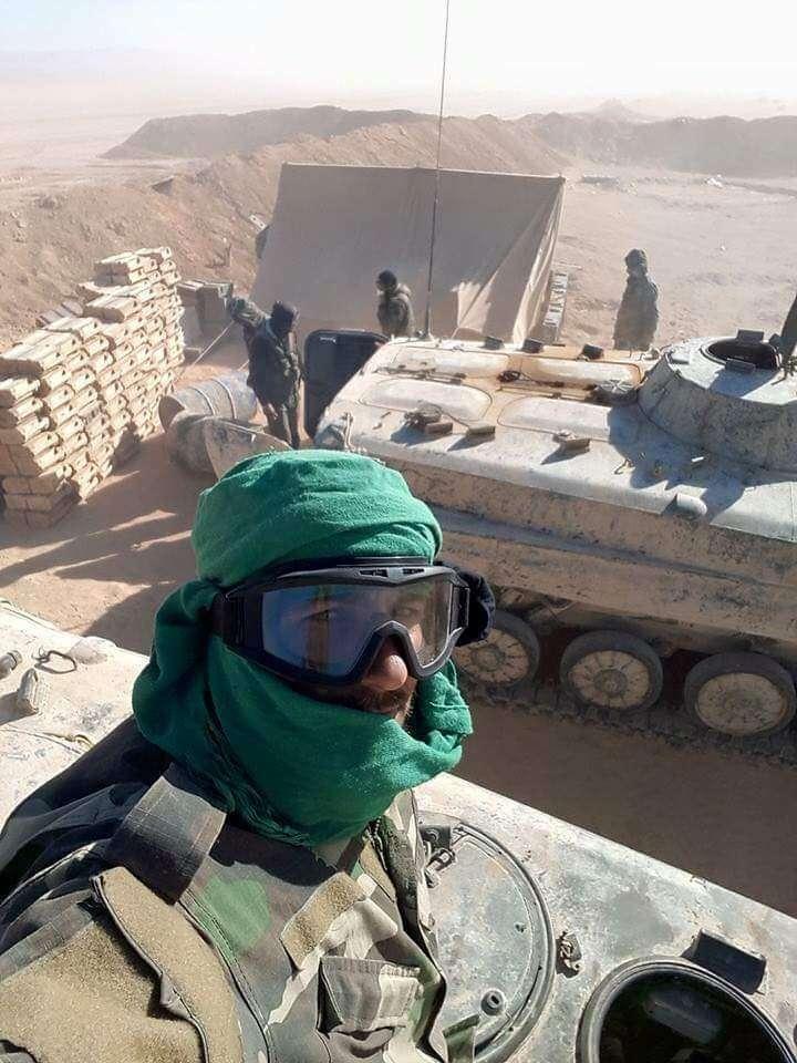 Армия Сирии грамотно и неумолимо наступает на Пальмиру