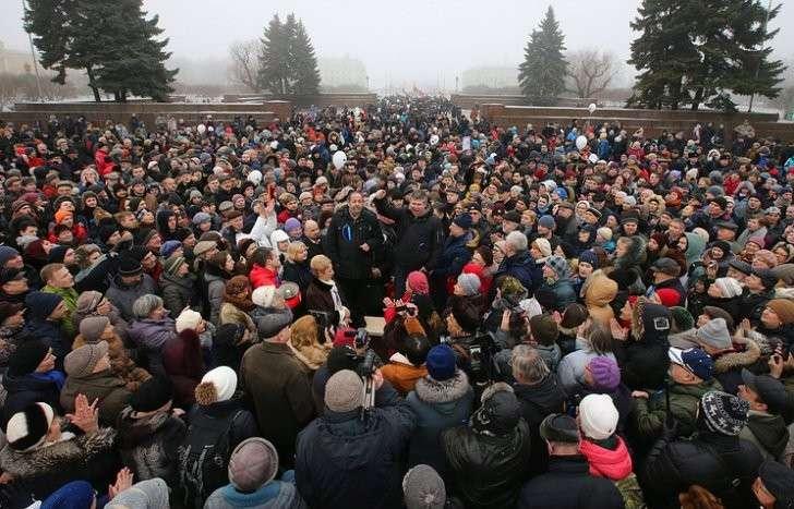 Митинг против передачи Исаакиевского собора в пользование РПЦ, 28 января