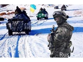 На Донбассе воцарилось «отчаянное молчание»: «Войска стоят лицом к лицу»
