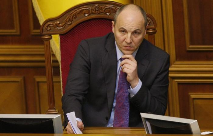 «Красноречивый» Парубий запретил депутатам выступать на русском языке
