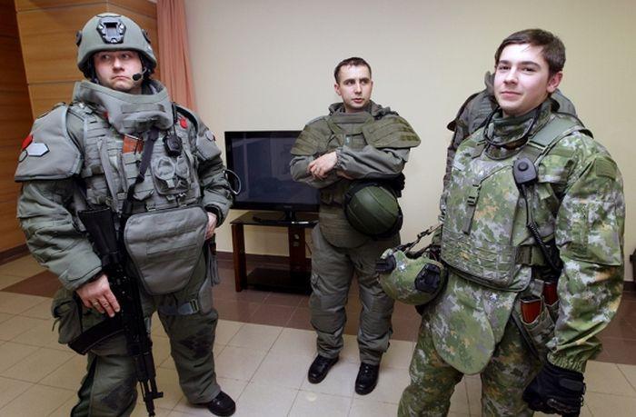 Ратник «хайтек»: Электронные секреты русских боевых доспехов будущего