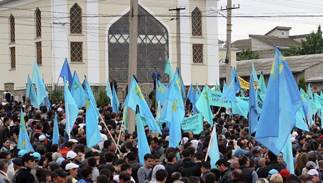 Крымские татары ООН: просим признать Крым частью России