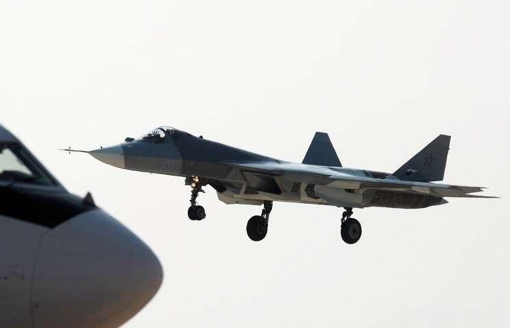 ОАК подпишет в 2015 году контракт на поставку десятков истребителей пятого поколения