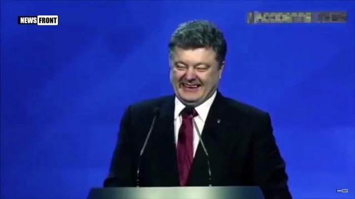 Жулик Порошенко добивается поражения Украины на Донбассе