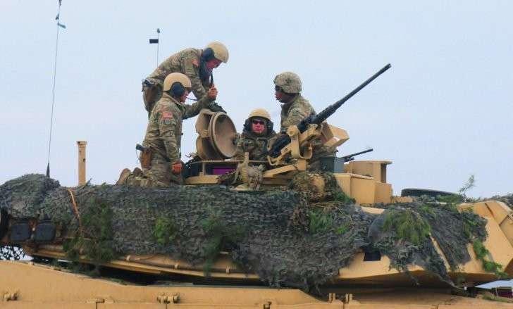 Развёртывание НАТО на западных границах Россия