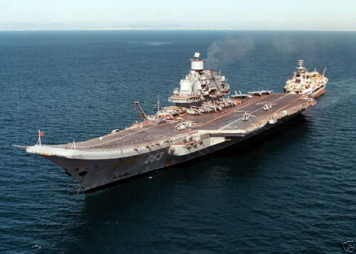 Боевой опыт «Адмирала Кузнецова» в Сирии войдет в учебники
