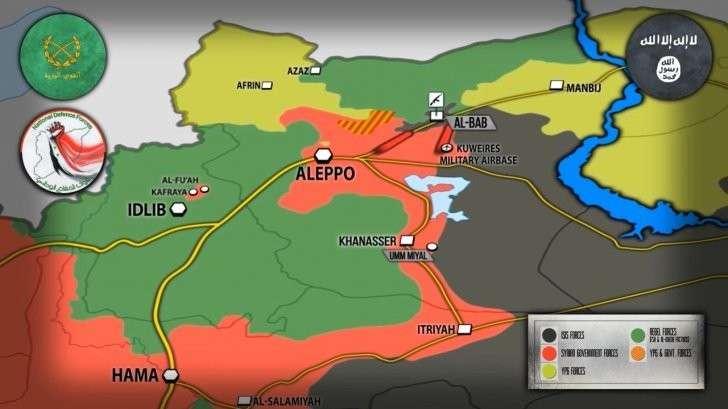 Сирия: войска «обтекают» Эль-Баб. Десятки Точек-У всполошили США
