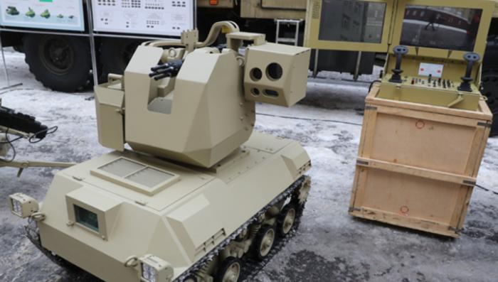 Калашников показал своего боевого робота «Нахлебник», который станет партнёром «Соратнику»