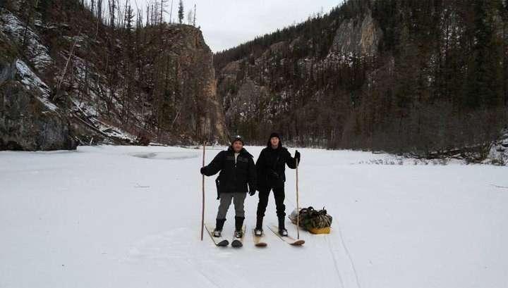 Полицейские гнались по тайге на лыжах за браконьерами 120 километров, и таки догнали!