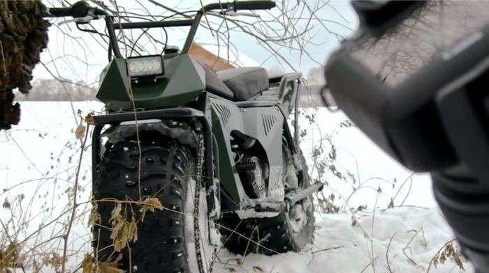 В Калуге выпустили новый полноприводный мотовездеход «Тарусь 2×2»