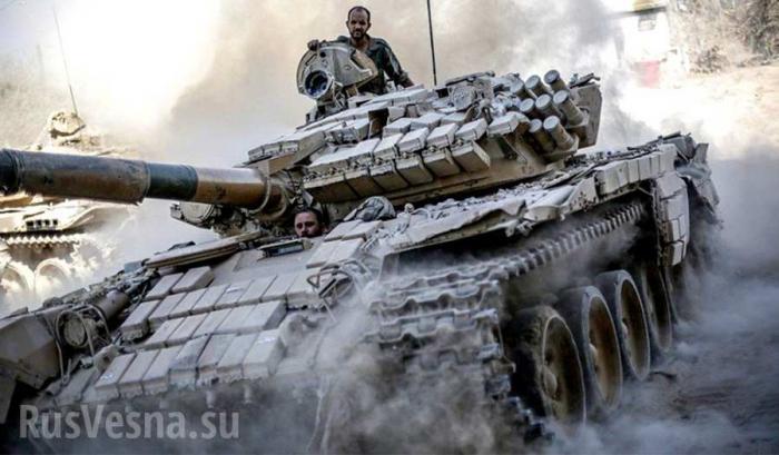 Война в Сирии: Армия Сирии прорвала оборону ИГ и столкнулась в бою с турецкими силами под Аль-Бабом