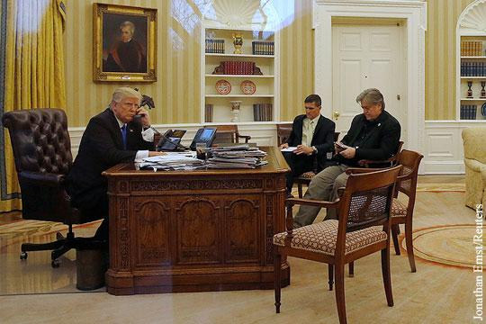 Работу Дональда Трампа торпедирует его собственная администрация. Гласность!