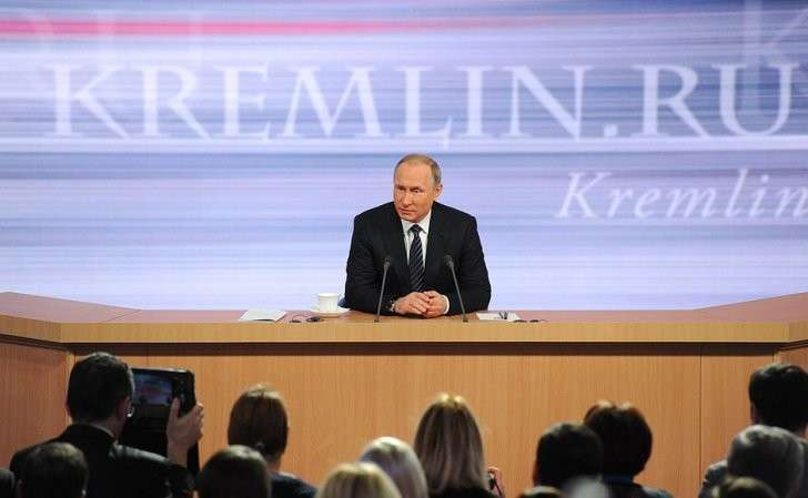 Картинки по запросу большая пресс конференция путина 2016