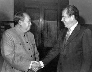 Судьба Тайваня была предметом торга Мао и Никсона, но после этого стороны закрыли тему – США признали остров неотъемлемой частью КНР