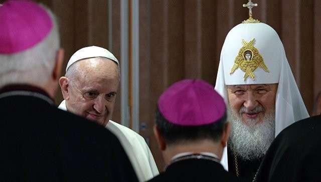 Папа Римский продолжает приватизацию РПЦ: новая встреча Папы и Патриарха