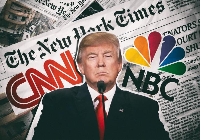 СМИ травят Дональда Трампа: Уровень неодобрения его деятельности в США вырос до 55%