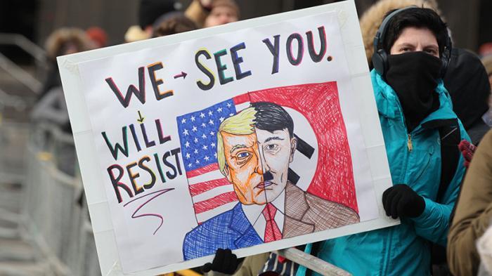 Гитлеризация Трампа: какие приёмы используют западные лживые СМИ, когда заканчиваются аргументы