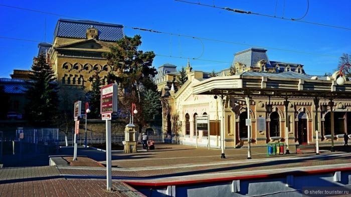 Ход благоустройства иреконструкции курортного города Кисловодск вСтавропольском крае