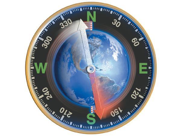 Магнитные полюса Земли поменяются местами. Катастрофа не скоро но неизбежно