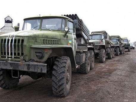 ДНР: Украина стянула шесть «Градов» к границе с Донбассом