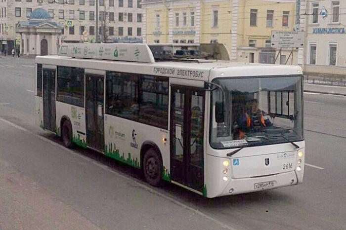 Электробус КАМАЗ-6282: объявлены результаты городских испытаний