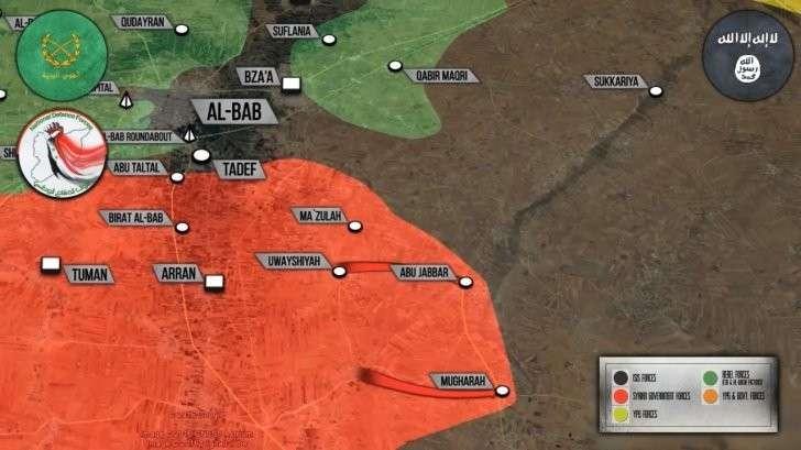 Сирия: Бои между боевиками в Хама и Идлибе, наши наступают на восток