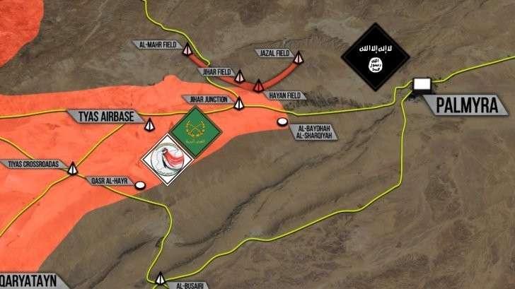 Пальмира: Сирийская армия занимает новые территории