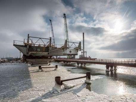 Украина в ужасе от темпов строительства Керченского моста