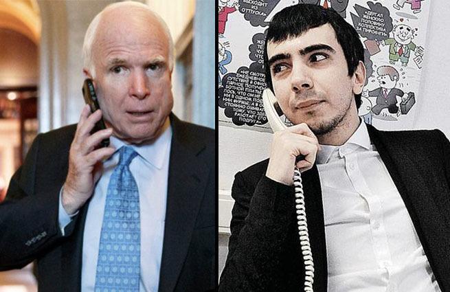 Страшный русский Абырвалг: пранкеры дозвонились Маккейну