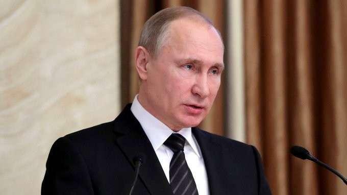 Владимир Путин принял участие в заседании коллегии Федеральной службы безопасности